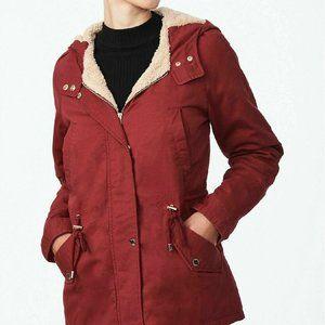 Collection B Brick Color Coat